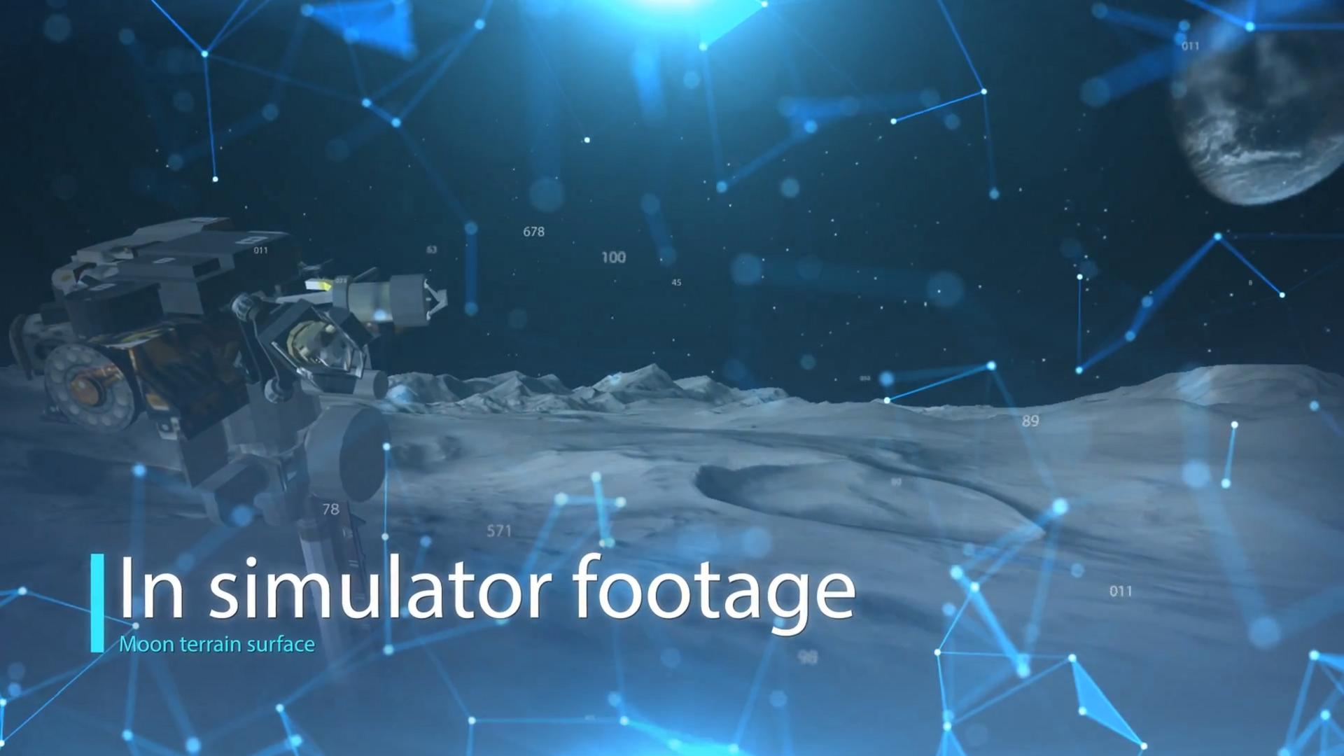 Training Simulator for Moon Missions